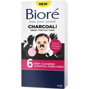 Deep Cleansing Charcoal Pore Strips,  Bioré Ansigtsmaske