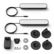 Philips Hue Play-lysskinne - Dobbeltpakke - Sort