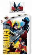 Batman Gotham Guardians  2i1 Sengetøj (100 procent bomuld!)