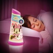 Minnie Mouse 2i1 Natlampe og lygte