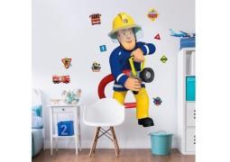 Brandmand Sam Kæmpe Figur Wallsticker