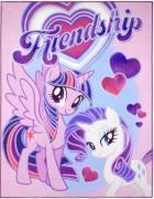 My Little Pony 03 De Luxe gulvtæppe til børn 95x125