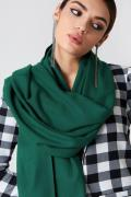 NA-KD Accessories Woven Scarf - Green