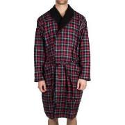 Tommy Hilfiger Classic Flannel Check Robe * Gratis Fragt *