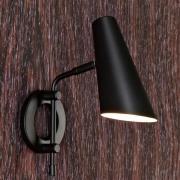 Cal væglampe med kontakt og stik