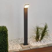 Timm - grafitfarvet LED-gadelampe, 100 cm