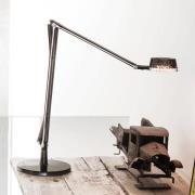 Justerbar LED bordlampe Aledin Dec, røggrå