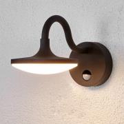 Finny - LED-udendørsvæglampe med bevægelsessensor