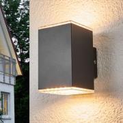 Lydia - LED-udendørsvæglampe, 2 lyskilder