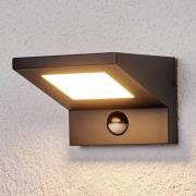Levvon - LED-udendørsvæglampe med bevægelsessensor