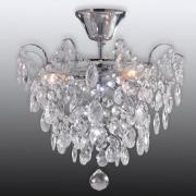 Rosendal loftlampe Ø 36 cm krom