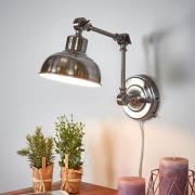 Grimmstad antikiseret væglampe