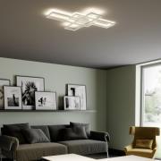 Lindby Tomke LED-loftlampe i hvid, kan dæmpes