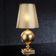 60 cm høj, gylden bordlampe Terra