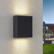 Lindby Ugar udendørs LED-væglampe, 13 cm up/down