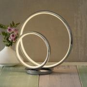 LED-bordlampe Omega med 3-trinsdæmper