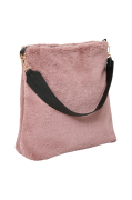Taske Big Fur i kunstpels