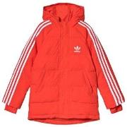 adidas Originals Red Trefoil Logo Padded Jacket 7-8 years (128 cm)