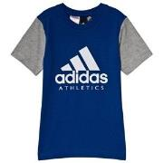 adidas Performance Blue Branded T-Shirt 7-8 years (128 cm)