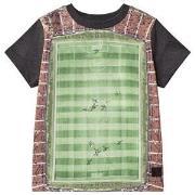 Molo Raddix T-Shirt Football Field 92 cm (1,5-2 år)