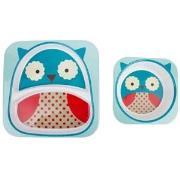 Skip Hop Zoo Plates Owl one size