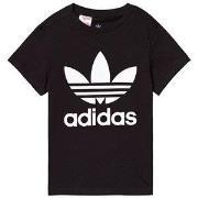 adidas Originals Black Trefoil Logo Tee 7-8 years (128 cm)