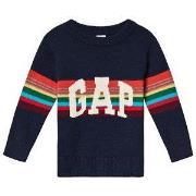 GAP Sweater Tapestry Navy 12-18 mdr