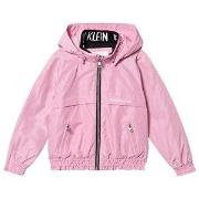 Calvin Klein Jeans Pink Padded Light Hooded Jacket 4 years