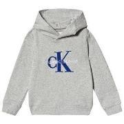Calvin Klein Jeans Logo Hoodie Grey 4 years