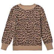 GAP Sweater med Leopard Print XS (4-5 år)