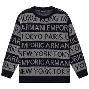 Emporio Armani Cities Sweater Grey and Navy 8 years