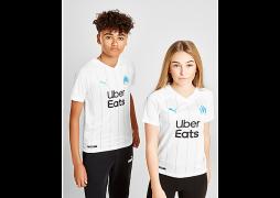 Puma     Olympique Marseille 2019/20 Home Shirt Junior - White - Kids