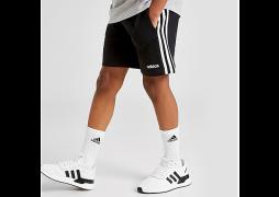 adidas Originals 3-Stripes French Terry Shorts Junior - Black  - Kids