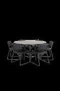 Spisegruppe Copenhagen med 6 spisebordsstole Kenth