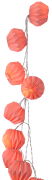 Dekorativ lyskæde Boll