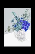 Plakat Blue Bouquet