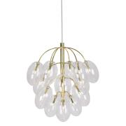 Globen Lighting-Drops Pendel, Messing