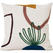 Ferm Living-Mirage Cushion 50x50 cm, Island